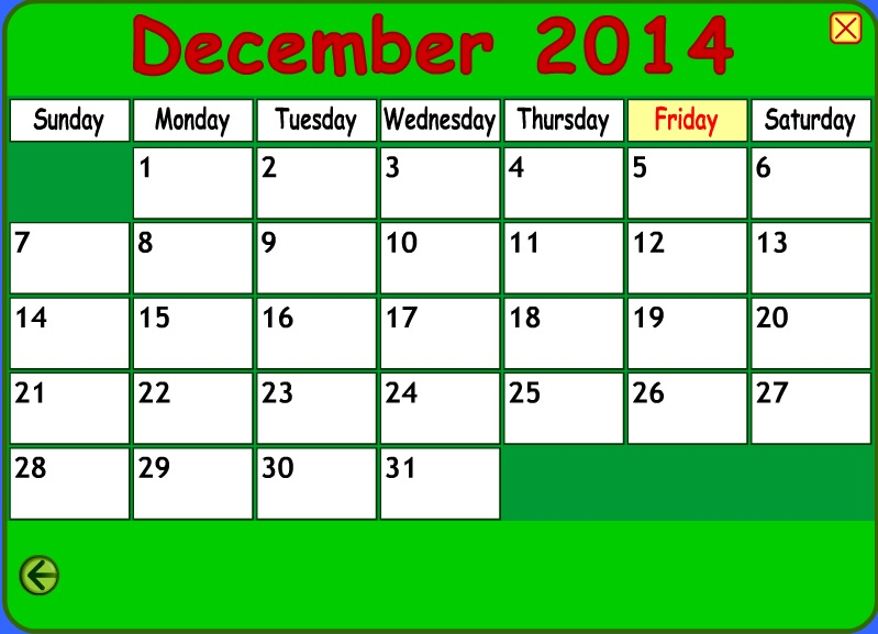 let u2019s make a calendar